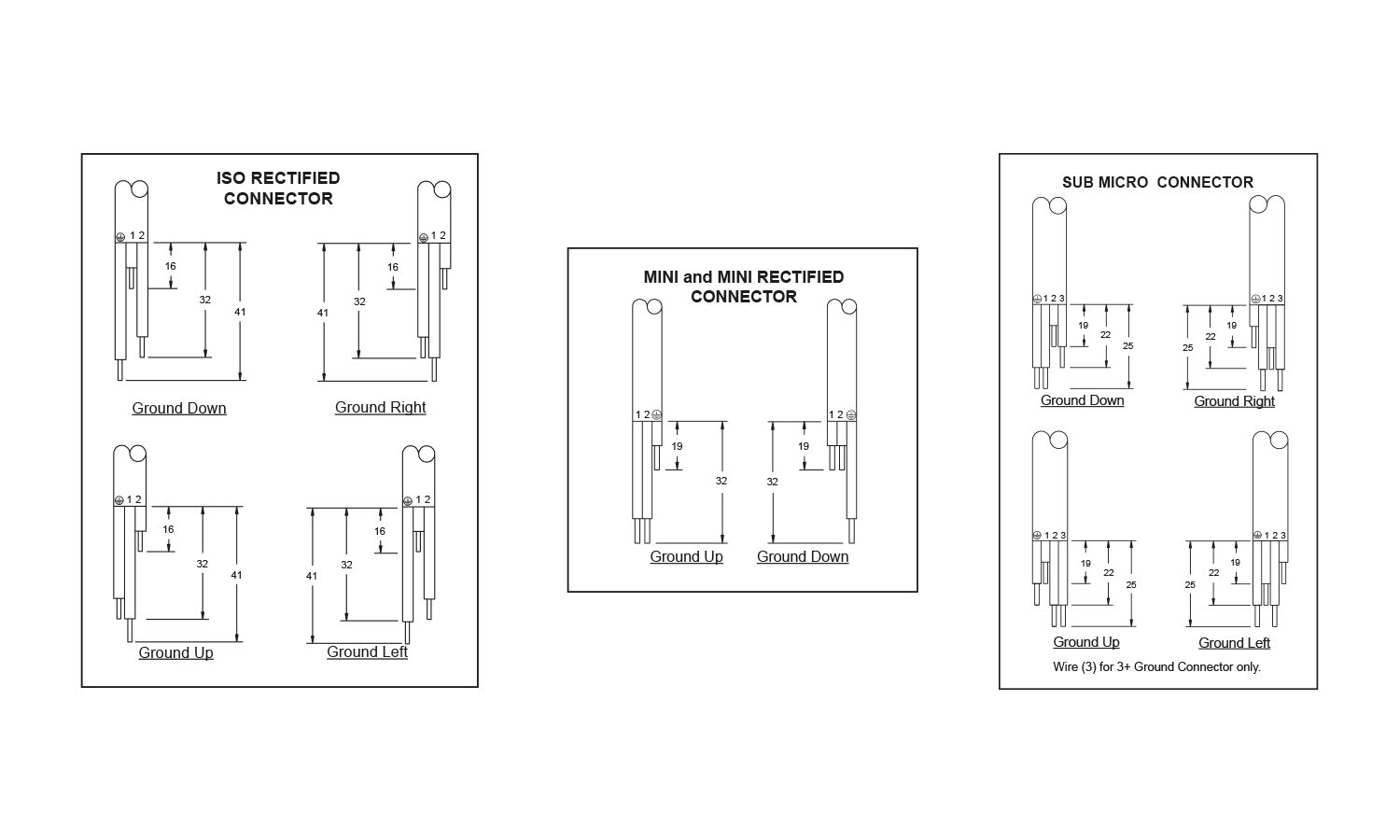 Canfield Connector Electrical Wiring Terminology